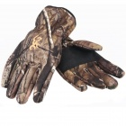 Bionic Camouflage Three-Layer Waterproof Cycling Gloves (Pair)