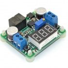 MaiTech Integrated Voltmeter Module / Step-up / Down Power Supply Module - Green(Red Display/5-25V)