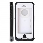 Redpepper Case HW01 Waterproof Protective Plastic Case for IPHONE 5 / 5S - White + Black