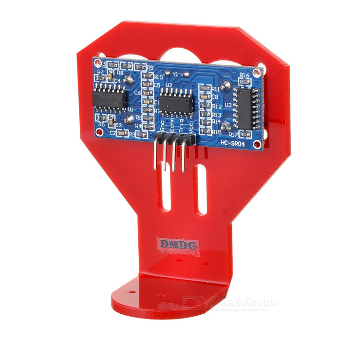 DMDG D03 Ultrasonic Smart Car Mounted Holder w/ HC-SR04 Ultrasonic Sensor Distance Measuring Module free shipping 20pcs lot ultrasonic module hc sr04 distance measuring transducer sensor for arduino samples best prices
