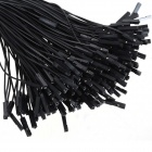 ZnDiy-BRY 1-Pin Male to Female DuPont Wire Connector Cables for Arduino - Black (20cm / 200 PCS)