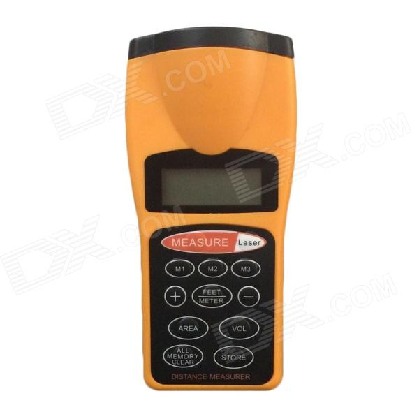 AOQI 003 Ultrasonic Distance Measurer - Yellow glass fiber tape measuring scale of 20 meters tape measurement tools