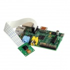 Raspberry Pi B (UK) Board + RPI 5.0 MP Webcam Camera Module Board for Model A/B (1080p / 720p)
