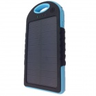 5000mAh High-performance Super Dustproof Shockproof Waterproof Solar Charger External Power Bank