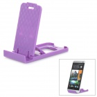 Mini Universal Desktop Mobile Phone Stand Holder - Purple