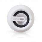 D93B Portable Wireless Bluetooth v3.0 Stereo Audio Speaker w/ 3.5mm Aux-In, TF, Mic - White