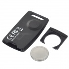 BLE-1 Bluetooth V4.0 Selfie Fjernkontroll / anti-tapt Alarm for iPhone / iPad-Sort + Blå