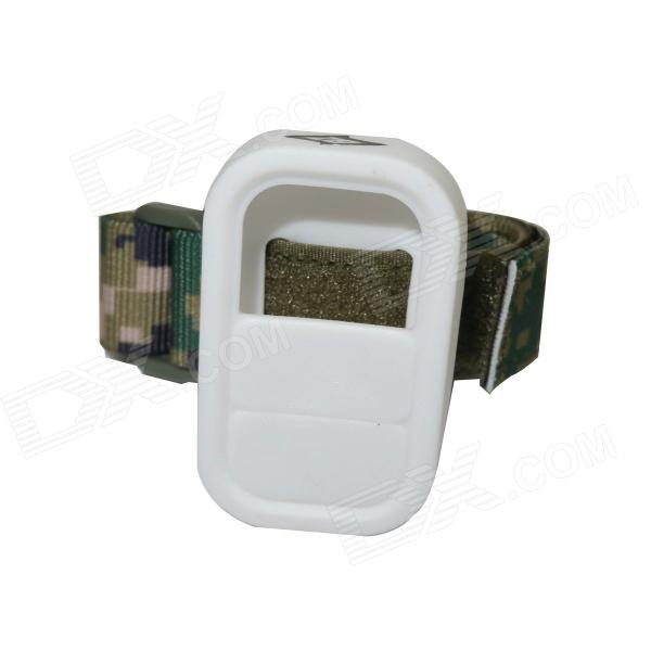 BZ112B Elastic Wrist Belt Silicone Protective Case for GoPro Hero3+/3 Wi-Fi Remote Control-camouflag