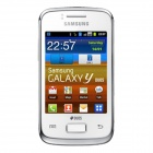 "Samsung Galaxy Y Duos S6102 Android 2.3 Bar Phone w/ 3.14"" Screen, Wi-Fi, GPS - White (3G, Unlocked)"