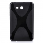 """X"" Style Protective TPU Back Case for Samsung Galaxy Tab 3 Lite 7 - Blue"