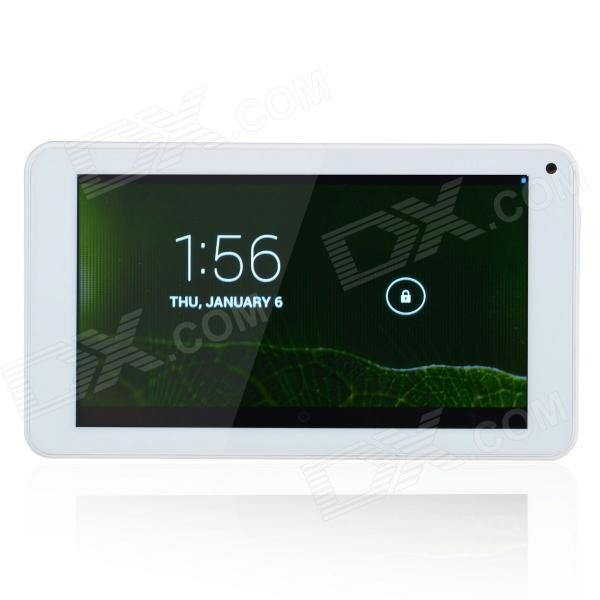 "P706 7.0"" Dual Core Android 4.1 Tablet PC w/ 512MB RAM, 4GB ROM, Wi-Fi, Dual Camera - White"