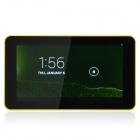 "P706 7.0"" Dual Core Android 4.1 Tablet PC w/ 512MB RAM, 4GB ROM, Wi-Fi, Dual Camera - Yellow"