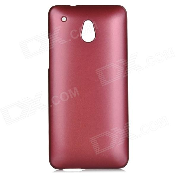 Protective Plastic Back Case for HTC ONE Mini M4 - Purplish Red protective plastic back case for htc one mini m4 pink