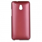 Protective Plastic Back Case for HTC ONE Mini M4 - Purplish Red