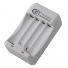 BTY N-95 4 Bay Universal Charger for AAA / AA Ni-MH / Ni-Cd Battery - White (110~240V)