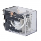 JQX-13F 0.8W Relay - Transparent (AC/DC 24~240V)