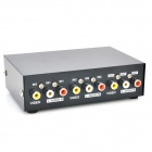 AV Video Audio Switcher Sharer Converter - svart (2 In / 1 ut)