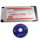 WBTUO Notebook Dedicated Expansion Card Express to 1-Port USB 3.0 34MM FL1000 Expansion Card