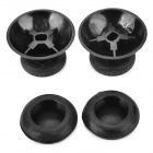 Joystick Cap w/ Anti-Slip Silicone Cover for XBOX ONE - Black (2Pairs)