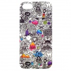 Find Something Games Pattern Protective TPU Case for IPHONE 5 / 5S - Grey + Black