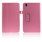 ENKAY Protective PU Leather Case Cover Stand for Samsung Galaxy Tab Pro 8.4 T320 / T321 - Pink