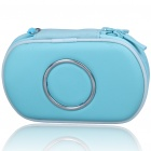 Hard Protective Carrying Case with Carabiner Clip for PSP Go (Light Blue)