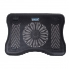 "Shunzhan USB 2.0 Cooling Pad 1-Fan Cooler for 9""~15"" Notebook / Laptop - Black"