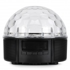 Multifunction LED Magic Ball Light Remote Control Speaker w/ TF Slot, USB, FM Radio