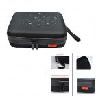BZ180 Upgraded Version Waterproof EVA Camera Dual-Zipper Bag for GoPro 2/3/3+/SJ4000 - Black