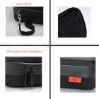 BZ180 Upgraded Version Waterproof EVA Camera Dual-Zipper Bag for GoPro 4/2/3/3+/SJ4000 - Black