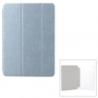 Dragon Pattern PU + Plastic Case w/ Stand / Auto Sleep for IPAD AIR - Grey + Transparent