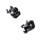 Universal 360 Degree Rotary J-Shape Fast Assembling Mount Buckle for GoPro Hero 2/3/3+ -Black (2PCS)