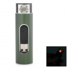F2 USB Electronic Cigarette Lighter - Army Green