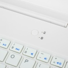 V3.0 Bluetooth Keyboard 64-Key para IPAD AIR - Branco