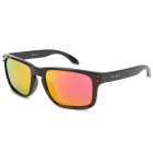 CARSHIRO GF336 Outdoor Sports UV400 Protection Sunglasses - Black + Red REVO