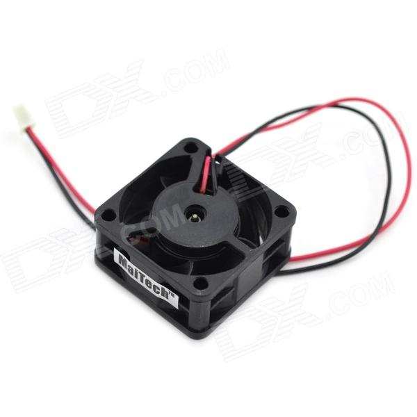MaiTech 4 x 4cm DC24V 0.13A Frequency Converter Cooling Fan - Black