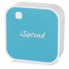iSpread TV-Box Smart HD Wi-Fi Wireless Transmission HDMI Convertor - Navy Blue + White