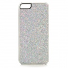 SFLP-123 Shimmering Power PC Protective Back Case for IPHONE 5 / 5S - Silver White