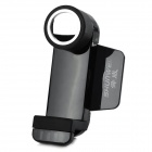 SHUNWEI SD-1108G Car 360 Degrees Rotary Mobile Phone Holder w/ Fixed and Tuyere Clips - Black