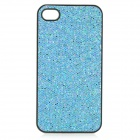 SFLP-122 Shimmering PC Protective Back Case for IPHONE 4 / 4S - Blue