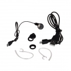 Jabees Stylish Colorful Bluetooth V3.0 Music Earhook Headset w/ Mic - White