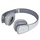 Jolly Roger M1 Bluetooth V4.0 Stereo Headset - White + Gray