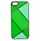 Sokad Sokad-ES07 Stylish Grid Pattern PC + ABS Back Case for IPHONE 5 / 5S - Green