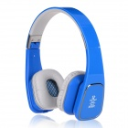 Jolly Roger M1 Bluetooth V4.0 Stereo Headset - Blue + Grey