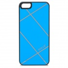 Sokad Sokad-ES11 Protective PC + ABS Back Case for IPHONE 5 / 5S - Light Blue