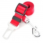 Doglemi DD-1010 Polyester Car Safety Belt for Pet Dog - Red