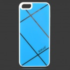 Sokad Sokad-FS11 Protective PC + ABS Back Case for IPHONE 5 / 5S - Turquoise + White