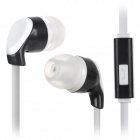 S-What Stereo 3.5mm In-ear Earphone w/ Microphone for IPHONE / IPAD / IPOD / Samsung + More (115cm)