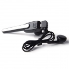 WXtime W-801 HD Voice 2-in-1 Bluetooth V4.0 Stereo Headset w/ Car Charger - Black