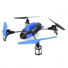 YD YD-719 Rechargeable 4-Channel 4-Axis R/C Aircraft w/ Gyro / Remote Controller - Blue + Black
